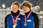 Podium_w: Vera Günter und Katja Lutz, SM2012